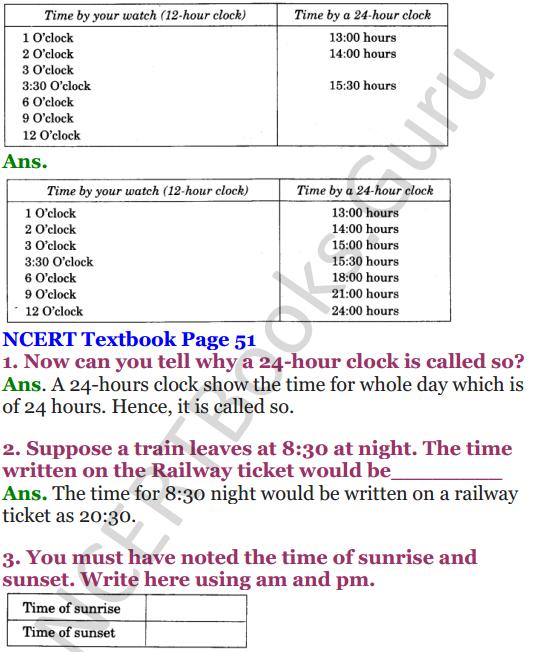 NCERT Solutions for Class 4 Mathematics Chapter-4 Tick-Tick-Tick 17