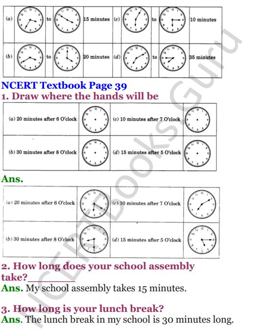 NCERT Solutions for Class 4 Mathematics Chapter-4 Tick-Tick-Tick 4