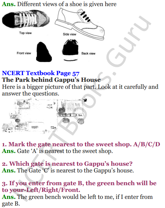 NCERT Solutions for Class 4 Mathematics Chapter-5 The Way The World Looks 4