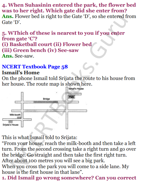 NCERT Solutions for Class 4 Mathematics Chapter-5 The Way The World Looks 5