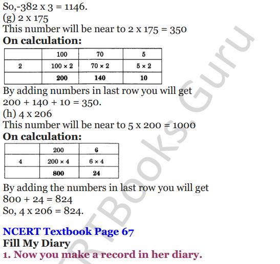NCERT Solutions for Class 4 Mathematics Chapter-6 The Junk Seller 10