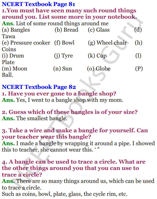 NCERT Solutions for Class 4 Mathematics Chapter-8 Carts And Wheels 1