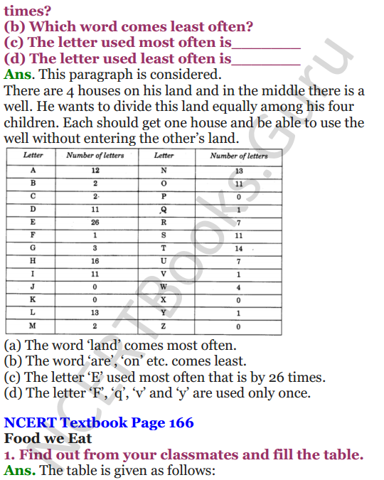 NCERT Solutions for Class 4 Mathematics Chapters -14 Smart Charts 5