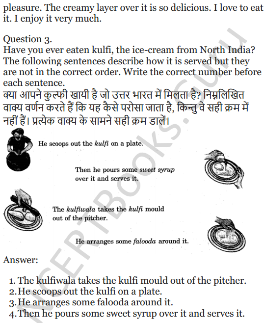 NCERT Solutions for Class 5 English Unit 1 Chapter 1 Ice-Cream Man 5