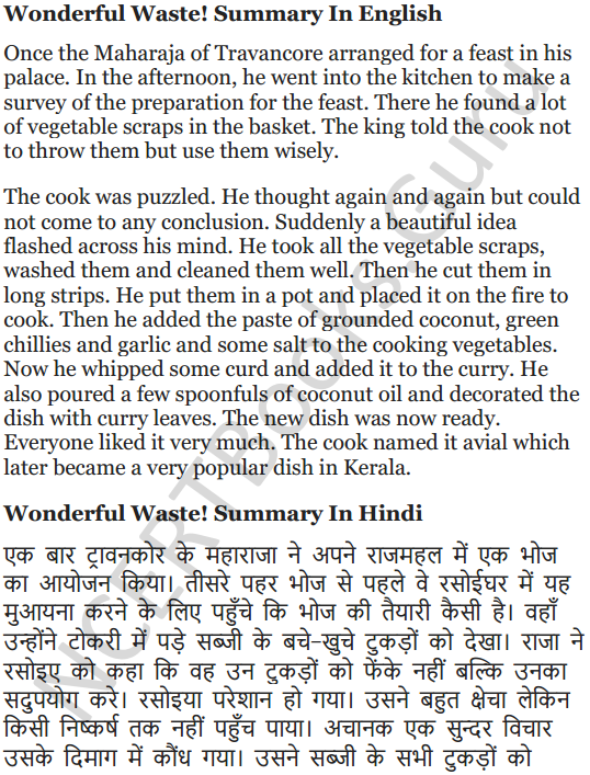 NCERT Solutions for Class 5 English Unit 1 Chapter 2 Wonderful Waste! 9
