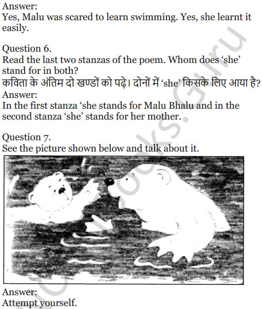NCERT Solutions for Class 5 English Unit 10 Chapter 1 Mallu Bhalu 2