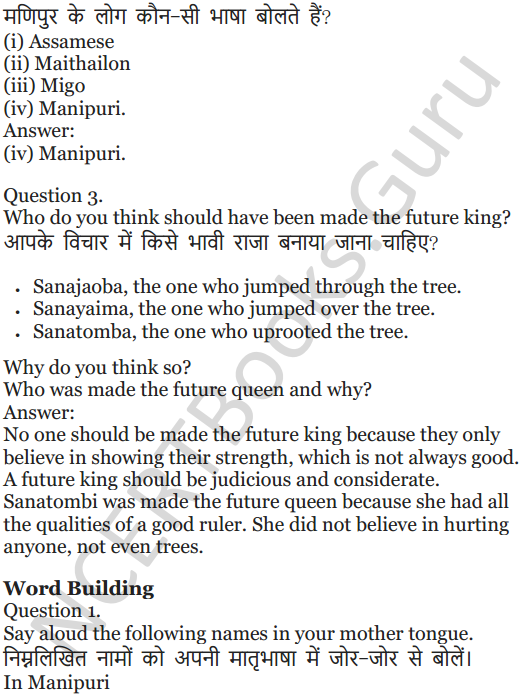 NCERT Solutions for Class 5 English Unit 10 Chapter 2 Who Will be Ningthou 3