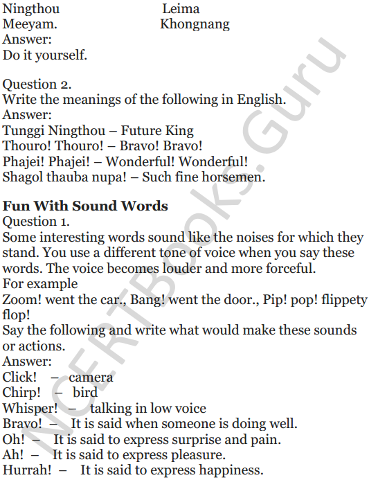 NCERT Solutions for Class 5 English Unit 10 Chapter 2 Who Will be Ningthou 4