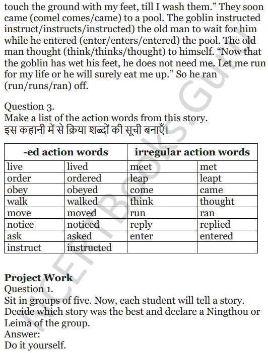 NCERT Solutions for Class 5 English Unit 10 Chapter 2 Who Will be Ningthou 6