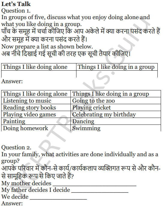 NCERT Solutions for Class 5 English Unit 2 Chapter 1 Teamwork 7