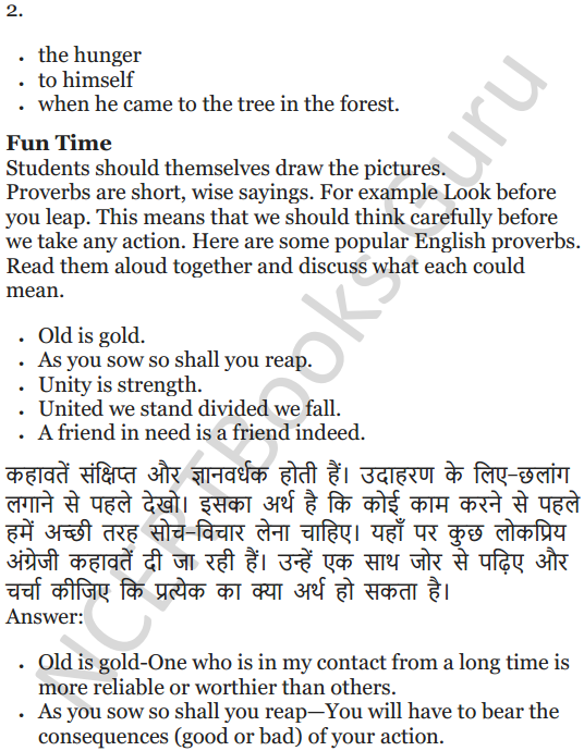 NCERT Solutions for Class 5 English Unit 2 Chapter 2 Flying Together 11