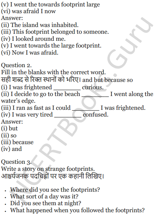 NCERT Solutions for Class 5 English Unit 3 Chapter 2 Robinson Crusoe 4