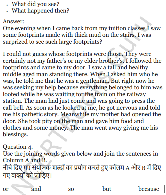NCERT Solutions for Class 5 English Unit 3 Chapter 2 Robinson Crusoe 5