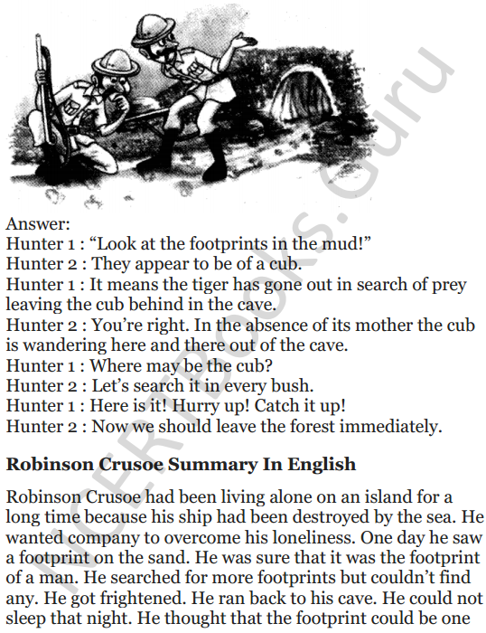NCERT Solutions for Class 5 English Unit 3 Chapter 2 Robinson Crusoe 8