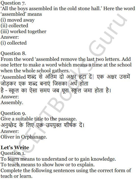 NCERT Solutions for Class 5 English Unit 4 Chapter 2 My Elder Brother 7