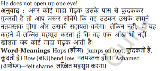 NCERT Solutions for Class 5 English Unit 5 Chapter 1 The Lazy Frog 5