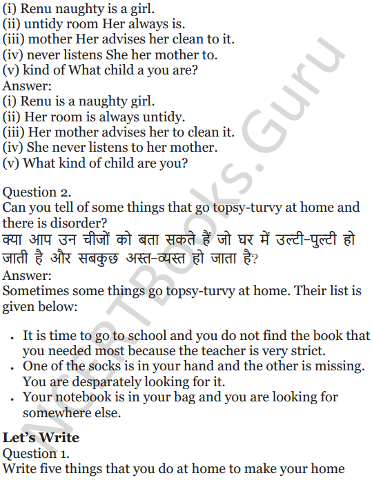 NCERT Solutions for Class 5 English Unit 7 Chapter 1 Topsy-Turvy Land 3