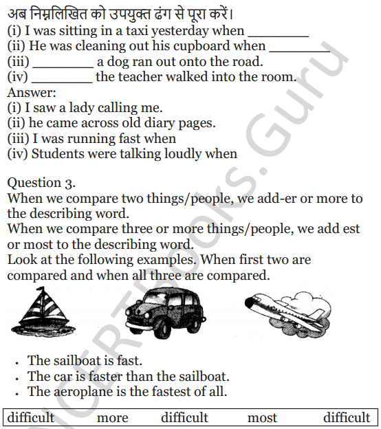 NCERT Solutions for Class 5 English Unit 7 Chapter 2 Gulliver's Travels 7