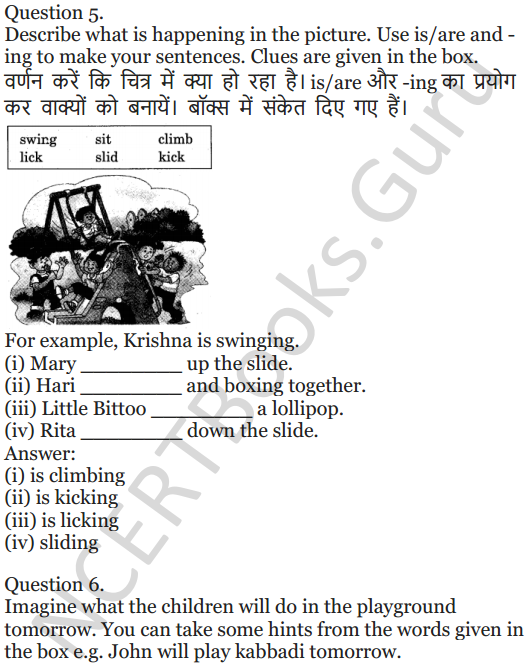 NCERT Solutions for Class 5 English Unit 8 Chapter 2 The Little Bully 8