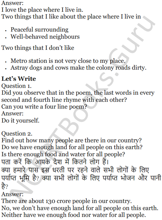 NCERT Solutions for Class 5 English Unit 9 Chapter 1 Sing A Song of People 4