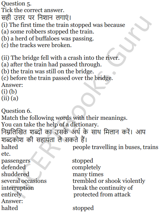 NCERT Solutions for Class 5 English Unit 9 Chapter 2 Around The World 2