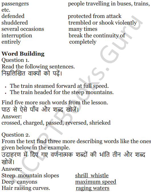 NCERT Solutions for Class 5 English Unit 9 Chapter 2 Around The World 3