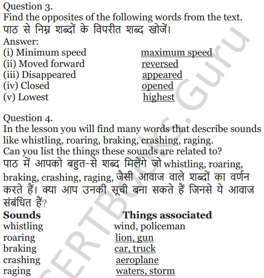 NCERT Solutions for Class 5 English Unit 9 Chapter 2 Around The World 4