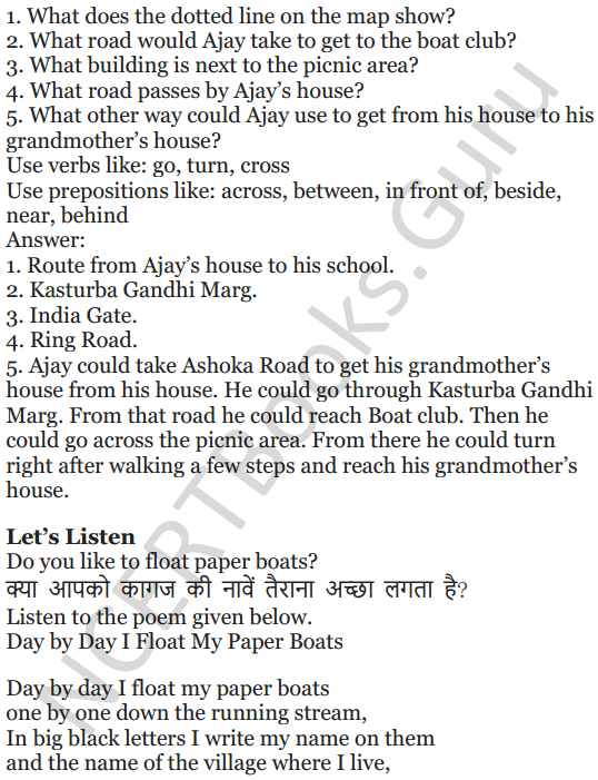 NCERT Solutions for Class 5 English Unit 9 Chapter 2 Around The World 8