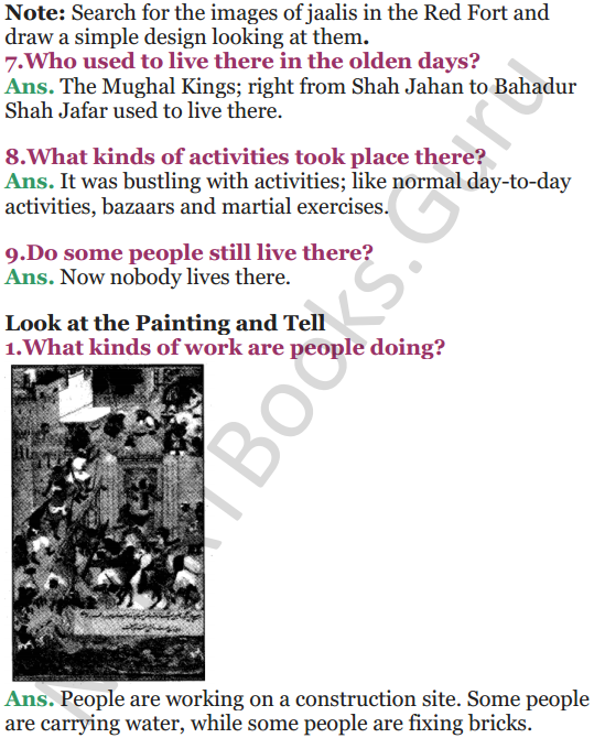 NCERT Solutions for Class 5 EVS Chapter 10 Walls Tell Stories 10