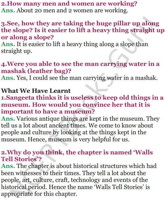 NCERT Solutions for Class 5 EVS Chapter 10 Walls Tell Stories 11