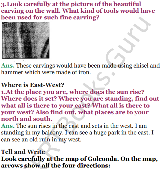 NCERT Solutions for Class 5 EVS Chapter 10 Walls Tell Stories 2