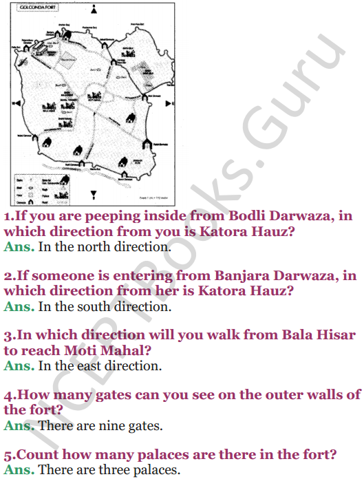 NCERT Solutions for Class 5 EVS Chapter 10 Walls Tell Stories 3