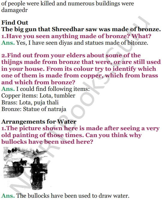 NCERT Solutions for Class 5 EVS Chapter 10 Walls Tell Stories 5