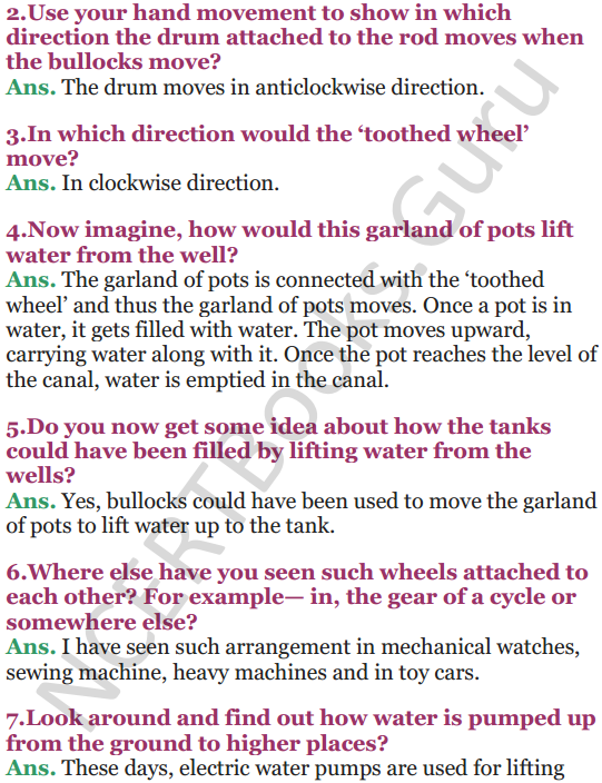NCERT Solutions for Class 5 EVS Chapter 10 Walls Tell Stories 6