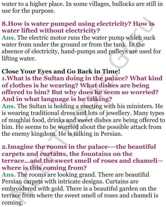 NCERT Solutions for Class 5 EVS Chapter 10 Walls Tell Stories 7