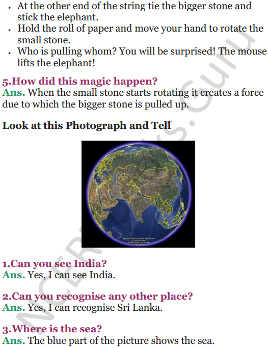NCERT Solutions for Class 5 EVS Chapter 11 Sunita In Space 4