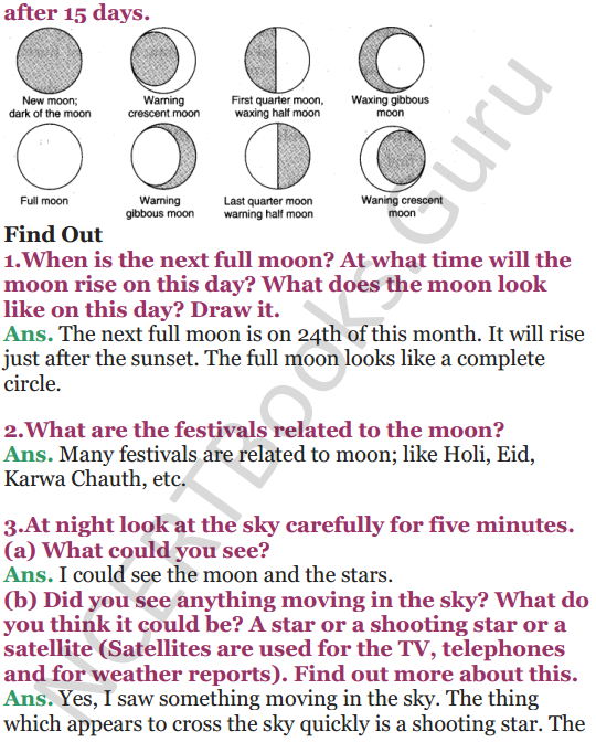 NCERT Solutions for Class 5 EVS Chapter 11 Sunita In Space 7