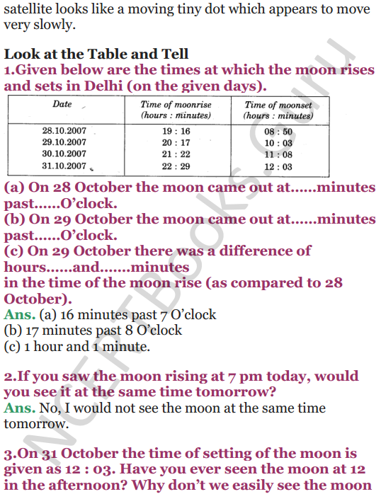 NCERT Solutions for Class 5 EVS Chapter 11 Sunita In Space 8