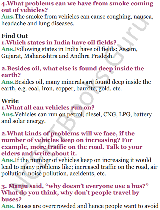 NCERT Solutions for Class 5 EVS Chapter 12 What If It Finishes 2