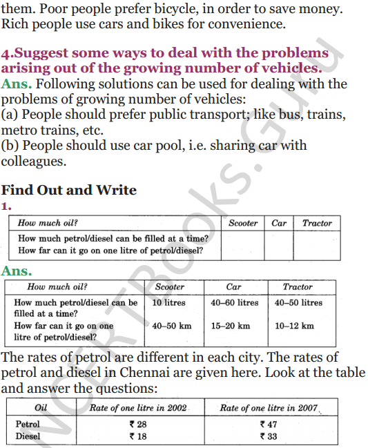 NCERT Solutions for Class 5 EVS Chapter 12 What If It Finishes 3