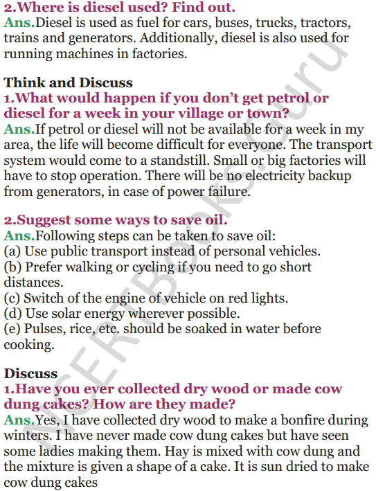 NCERT Solutions for Class 5 EVS Chapter 12 What If It Finishes 5