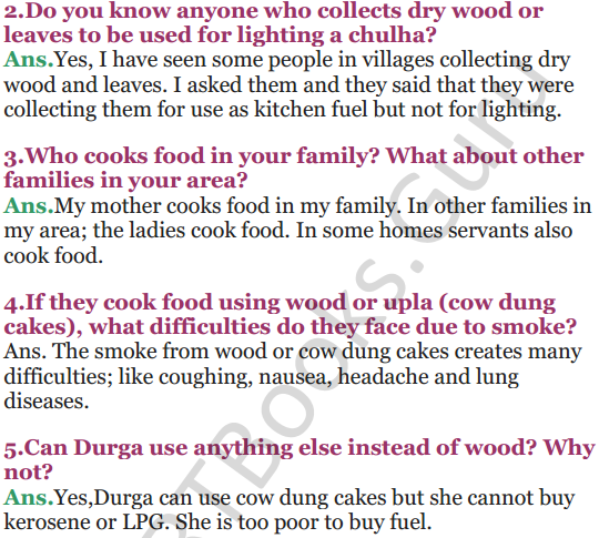 NCERT Solutions for Class 5 EVS Chapter 12 What If It Finishes 6