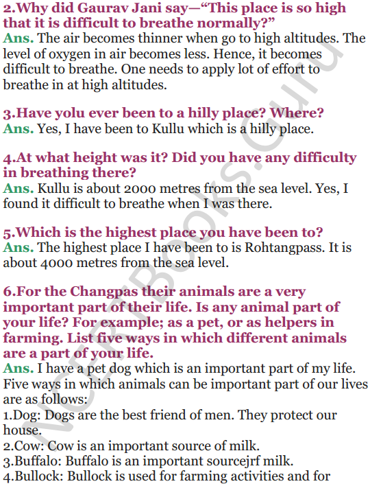 NCERT Solutions for Class 5 EVS Chapter 13 A Shelter So High 3