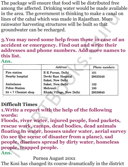 NCERT Solutions for Class 5 EVS Chapter 14 When The Earth Shook 6