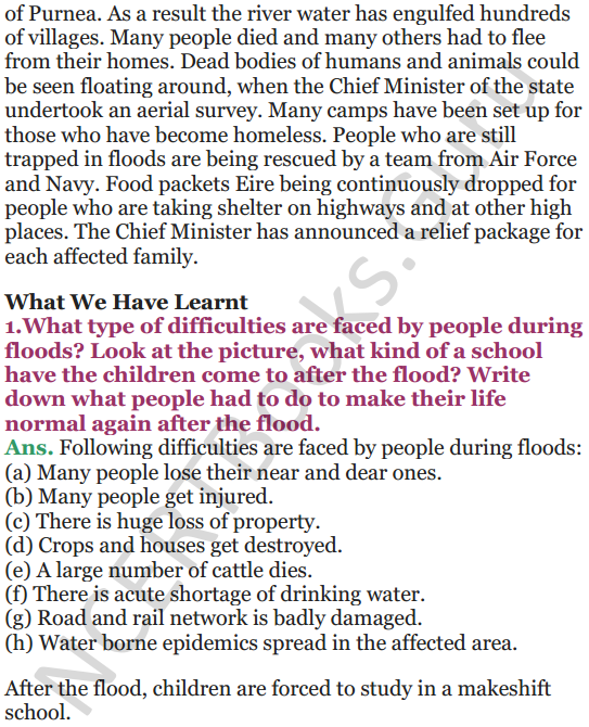 NCERT Solutions for Class 5 EVS Chapter 14 When The Earth Shook 7