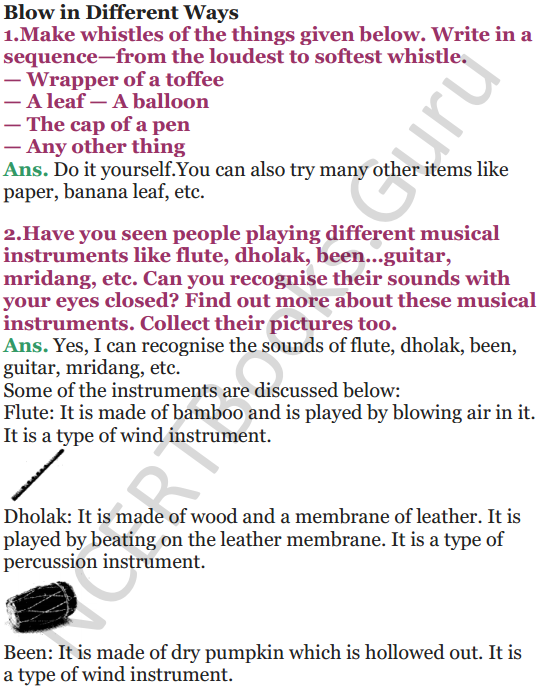 NCERT Solutions for Class 5 EVS Chapter 15 Blow Hot, Blow Cold 4