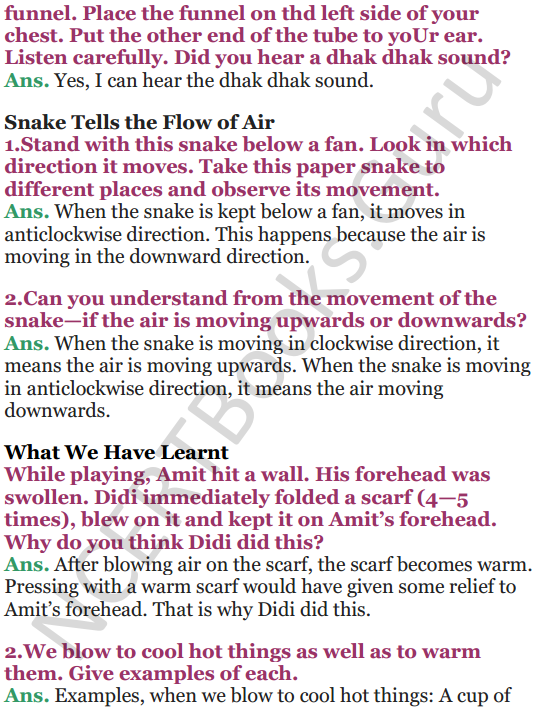 NCERT Solutions for Class 5 EVS Chapter 15 Blow Hot, Blow Cold 8