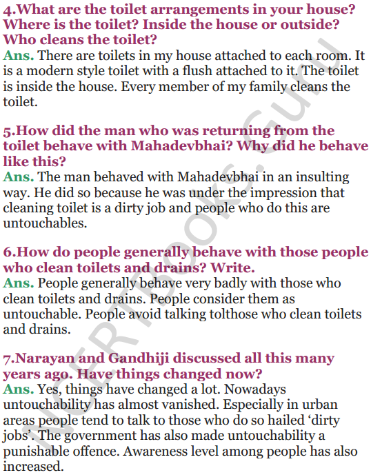 NCERT Solutions for Class 5 EVS Chapter 16 Who Will Do This Work 5