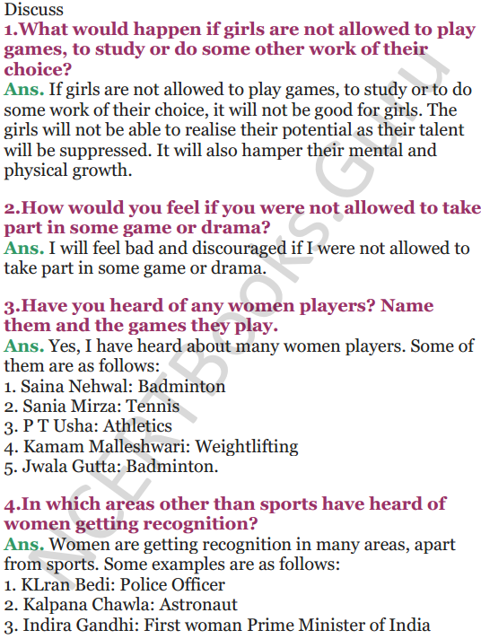 NCERT Solutions for Class 5 EVS Chapter 17 Across The Wall 4