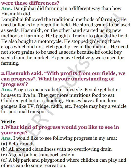 NCERT Solutions for Class 5 EVS Chapter 19 A Seed Tells A Farmers Story 3